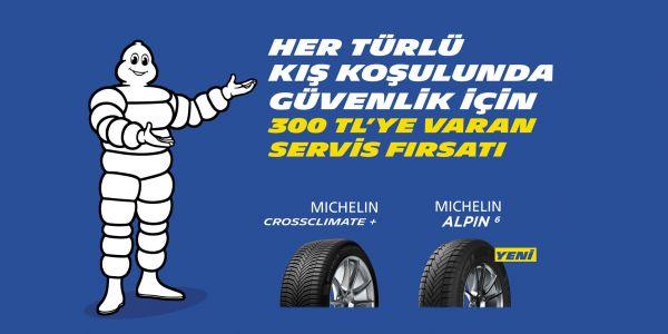 Michelin'in Servis Kampanyası Sürüyor
