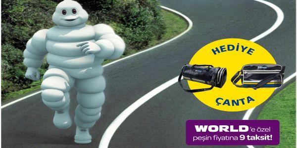 Michelin'in yaz lastikleri retro çanta kampanyası!