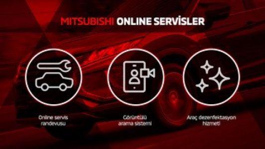 Mitsubishi Türkiye online hizmetlere başladı!