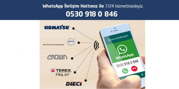 Müşterilerine Whatsapp kadar yakın