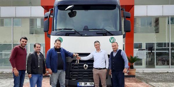 Nazkılıç Nakliyat filosuna Renault Trucks T460 kattı