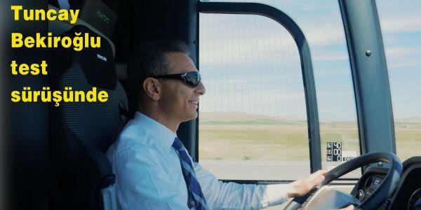 NEOPLAN Yeni Tourliner'ın ilk test sürüşü Genel Müdür Tuncay Bekiroğlu'ndan…