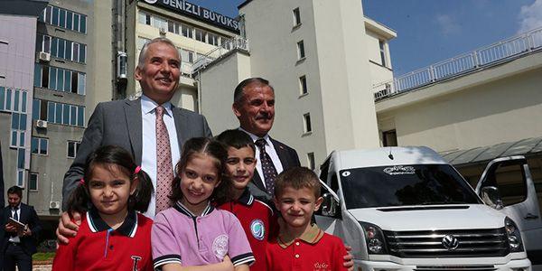 Öğrenci servislerinde Türkiye'de bir ilk