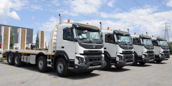 Orman Genel Müdürlüğü, 4 adet Volvo FMX 500 aldı