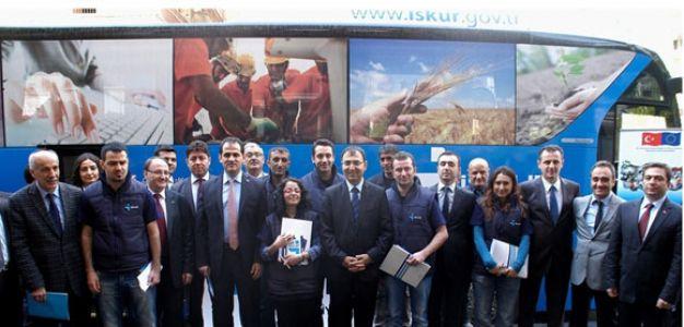 Otobüs, İŞKUR'un gezici ofisi oldu