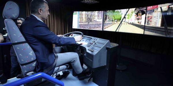 Otobüs simülatör eğitimi