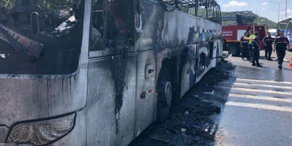 Otobüs Yangınlarında akıllardan kalan üç nokta