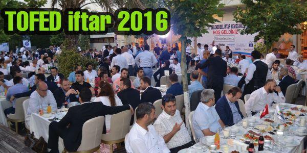 Otobüsçüler ve üreticiler TOFED iftarında buluştu