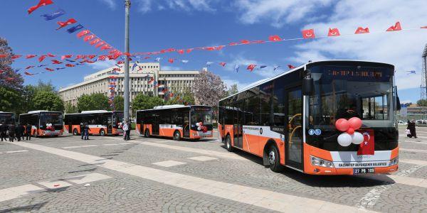 Otokar Doruk LE'nin ilk hizmet noktası Gaziantep