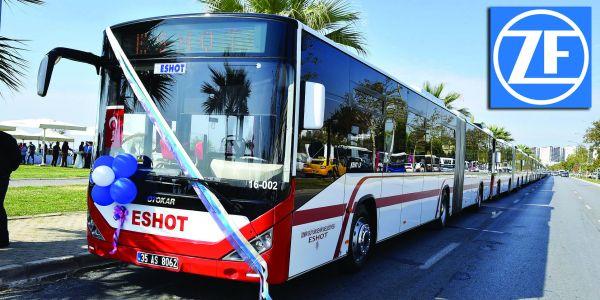 Otokar otobüslerde ZF EcoLife otomatik şanzıman