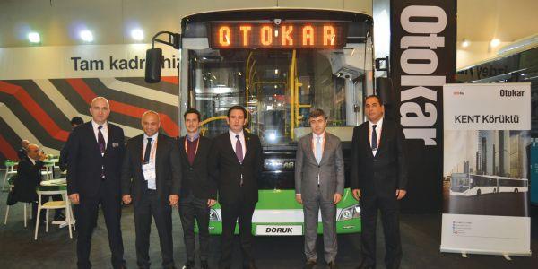 Otokar, Transist Fuarı'nda yenilikçi araçlarını tanıttı