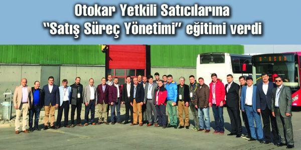 Otokar, yetkili satıcılarına eğitim verdi