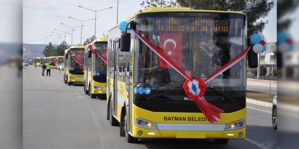 Otokar'dan Batman Belediyesi'ne 24 adetlik teslimat