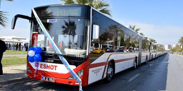 Otokar'dan İzmir ulaşımına 60 körüklü otobüs
