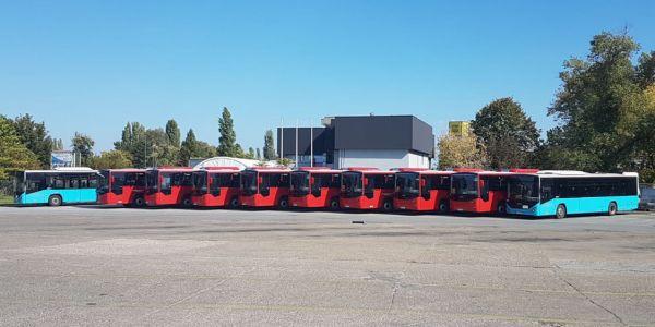 Otokar'dan Sırbistan'a 10 otobüs