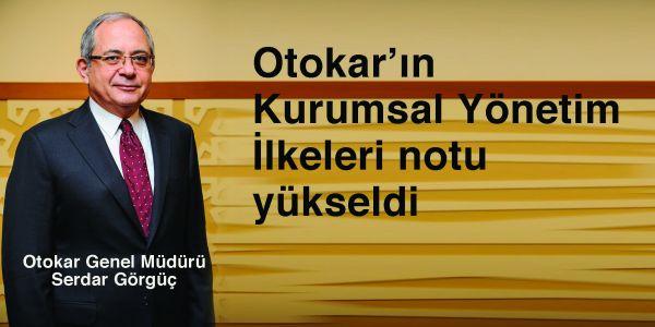 Otokar'ın notu 9,32'ye yükseltildi
