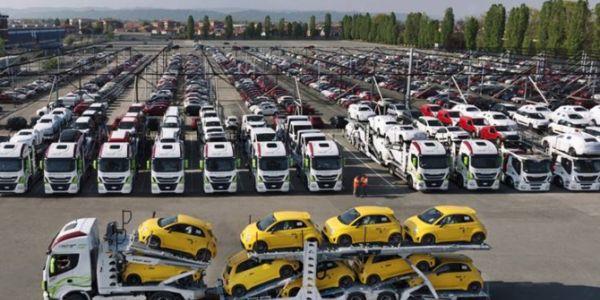 Otomotiv ihracatı Mart ayında 2,1 milyar dolar oldu