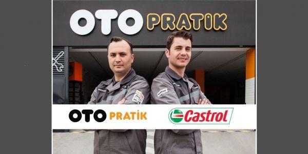 Otopratik, Castrol işbirliğiyle servis ve bakım hizmetinde