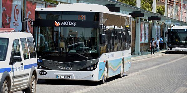Özel halk otobüslerine denetim