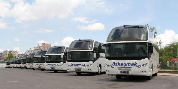Özkaymak 1 milyon 625 bin yolcu taşıyacak, 23 otobüs yatırımı yapacak