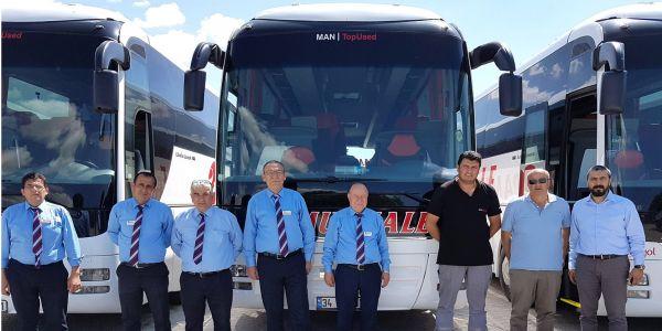 Pamukkale 22 Man VIP otobüs aldı