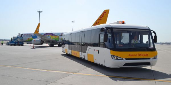 Pegasus 24 TAM Durabus otobüsü alıyor