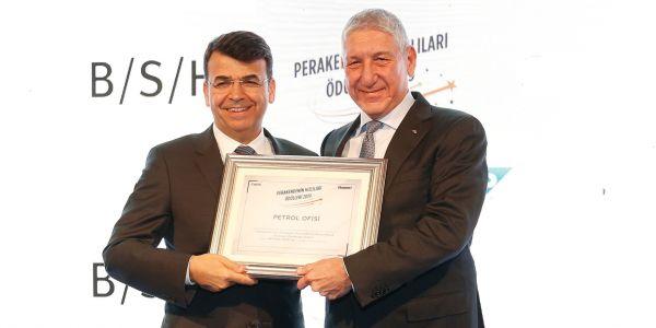 Petrol Ofisi, 'Perakendenin Hızlıları Ödülü'ne layık görüldü