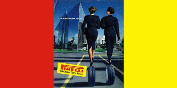 Pirelli reklamlarını bir kitapta topladı