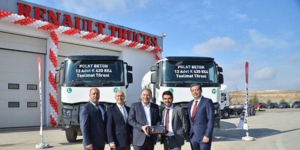 Renault Trucks K serisi, gücü ile hazır beton nakliyesinde