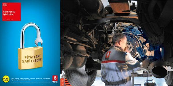 Renault Trucks'tan servis kampanyası