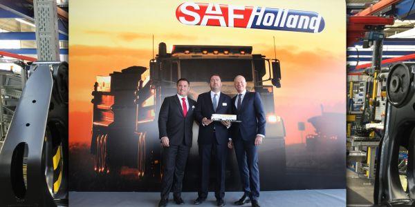 SAF-HOLLAND, Düzce'de 35 bin aks üretecek