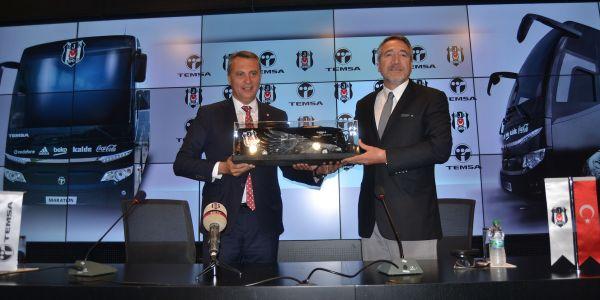 Şampiyon Beşiktaş'ın tercihi Temsa Maraton