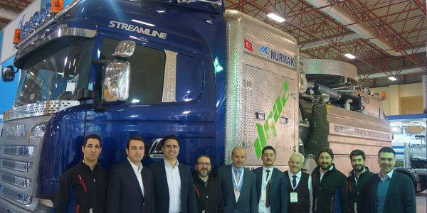 Scania her proje üstyapı çözümlerine uygun