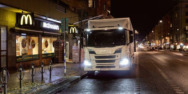 Scania'dan Şehiriçine Sıfır Emisyon