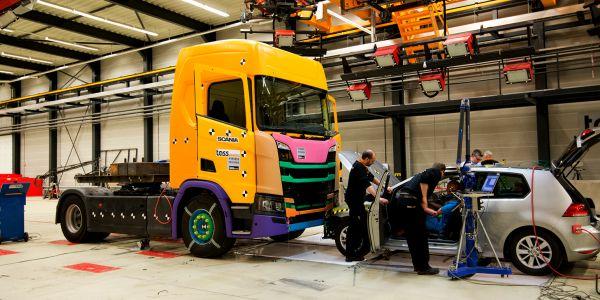 Scania'dan yeni güvenlik sistemi