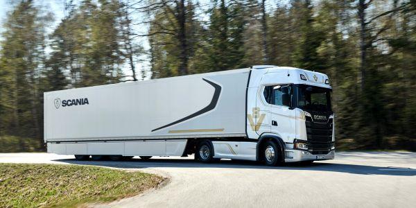 Scania'nın Efsane Motoru 'V8' 50 yaşında