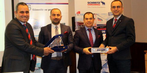 Schmitz Cargobull 'dan ALC Lojistik'e 6 treyler teslimatı