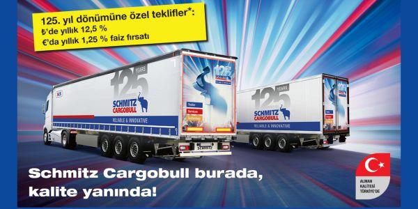 Schmitz Cargobull'dan nakliyeciye yılın son fırsatı