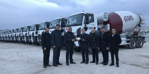 Sedaş Beton, 25 Ford Trucks mikser aldı
