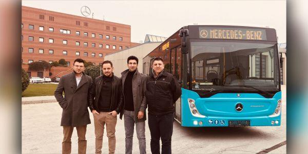 Şehir içi yolculuğun adresi Mercedes-Benz Conecto!