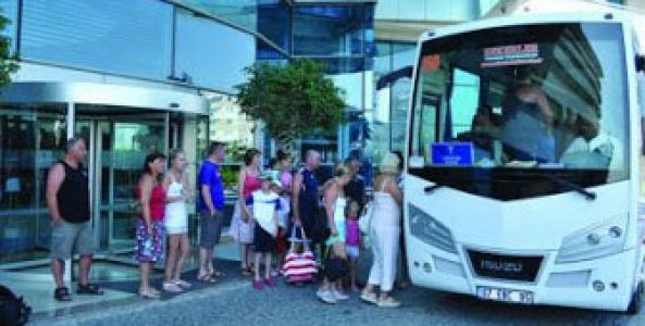 Şehiriçi grup taşımalarında belediye tam yetkili