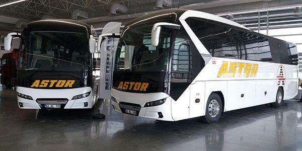 Şensan Otomotiv'den Astor Turizm'e 2 Tourliner