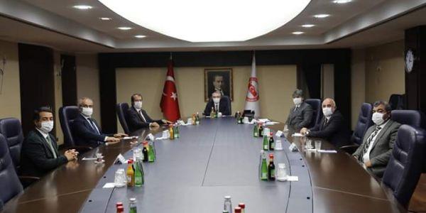 Servisçiler Ankara'da taleplerini dile getirdi