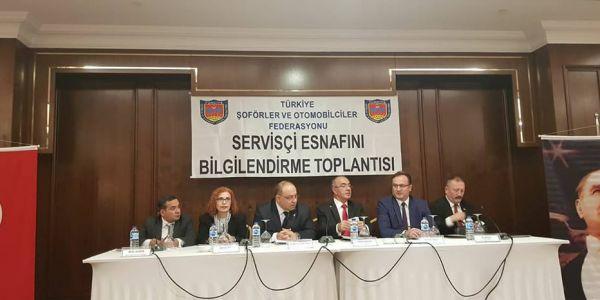 """Servisçiler """"Okul Servis Yönetmeliği"""" için buluştu"""