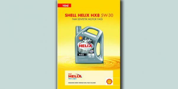 Shell'den yeni motor yağı Helix HX8