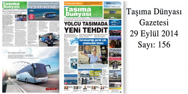 Taşıma Dünyası Gazetesi_156 PDF 29 Eylül 2014