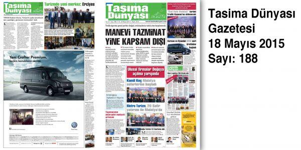 Taşıma Dünyası Gazetesi_188 PDF 18 Mayıs 2015