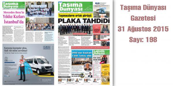 Taşıma Dünyası Gazetesi_198 PDF 31 Ağustos 2015