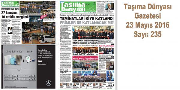 Taşıma Dünyası Gazetesi_235 PDF 23 Mayıs 2016