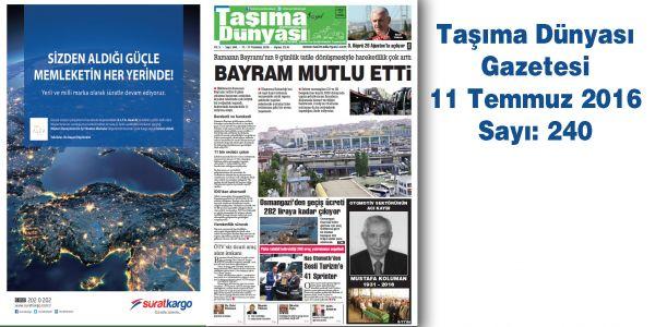 Taşıma Dünyası Gazetesi_240 PDF 11 Temmuz 2016